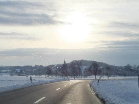 雪のドライブ4
