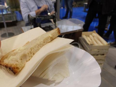 大根とパン