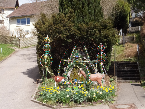 復活祭の噴水1