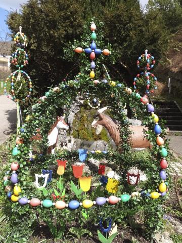 復活祭の噴水2