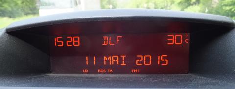 気温30度