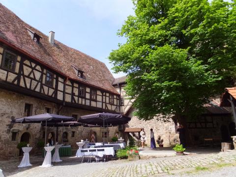 リヒテンベルク城中庭