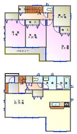 東小保方6号棟 - コピー
