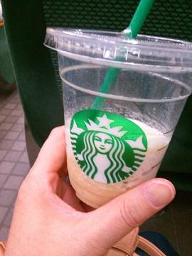 コーヒーフラペチーノ