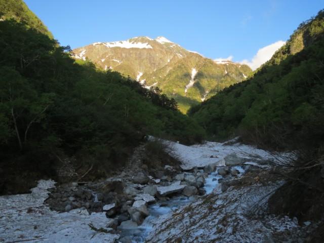 6月7日 横尾谷から北穂