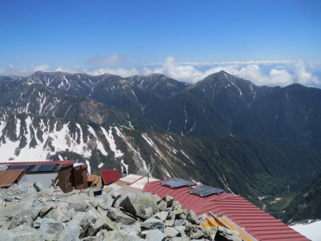 6月7日 常念岳と大天井岳