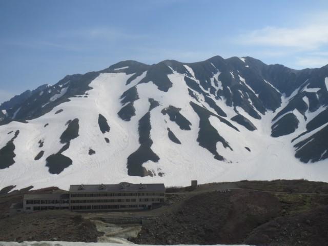 6月14日 雷鳥沢と別山