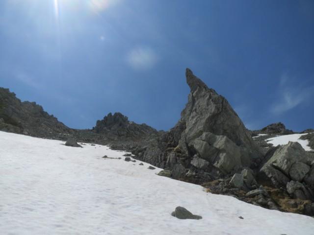 6月14日 ローソク岩