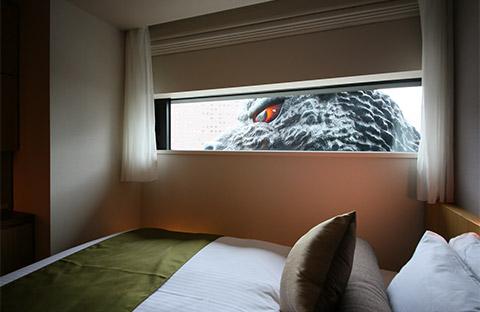 ホテルグレイスリー新宿 ゴジラルーム