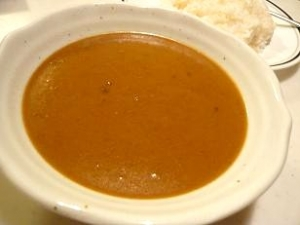 古奈屋スープカレー盛付