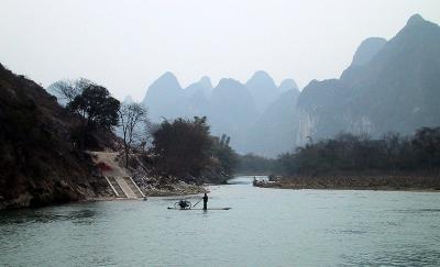■ 漓江下りの旅 中国・桂林