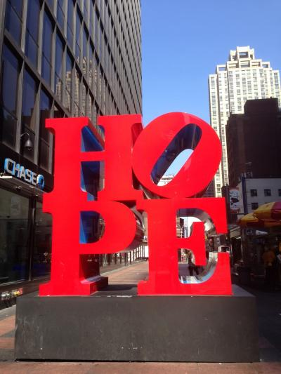 Robert Indiana の HOPE