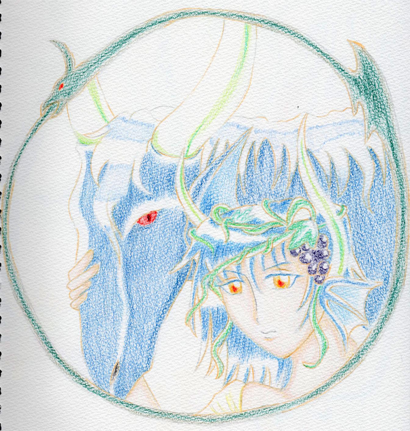 竜と竜族の少年