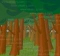 森林イラスト