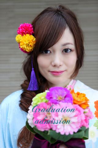 袴 髪飾り 和風