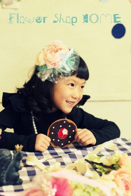 フォーマル 髪飾り 子供