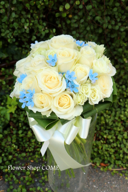 青い 結婚式