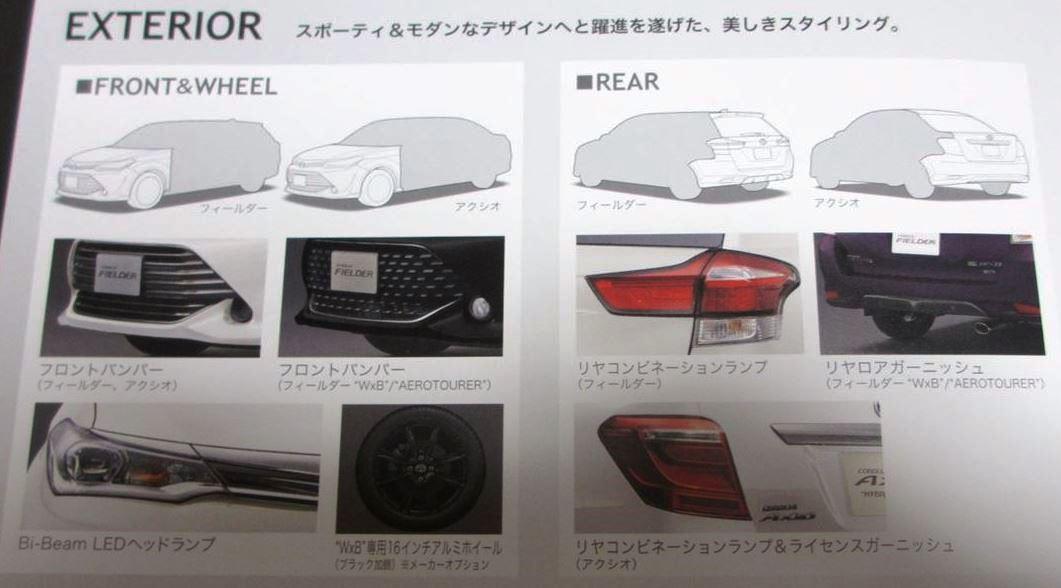 新型カローラ モデルチェンジ3