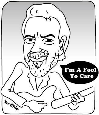 Boz Scaggs caricature