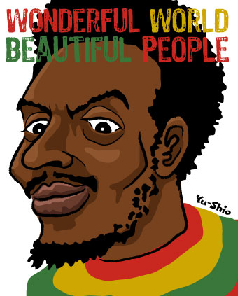 Jimmy Cliff caricature