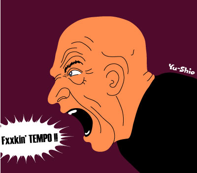 J.K. Simmons caricature