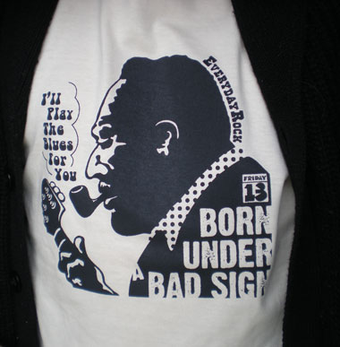 EverydayRock T Shirt Albert King caricature