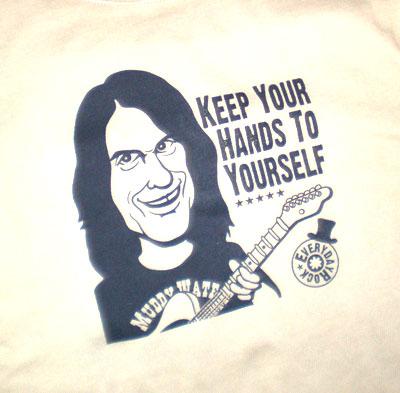 EverydayRock T Shirt Dan Baird Georgia Satellites caricature