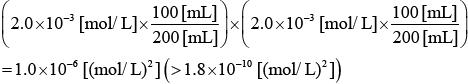 【平成27年度(2015年度)大学入試センター試験】化学・第2問・問3・実験Ⅰ