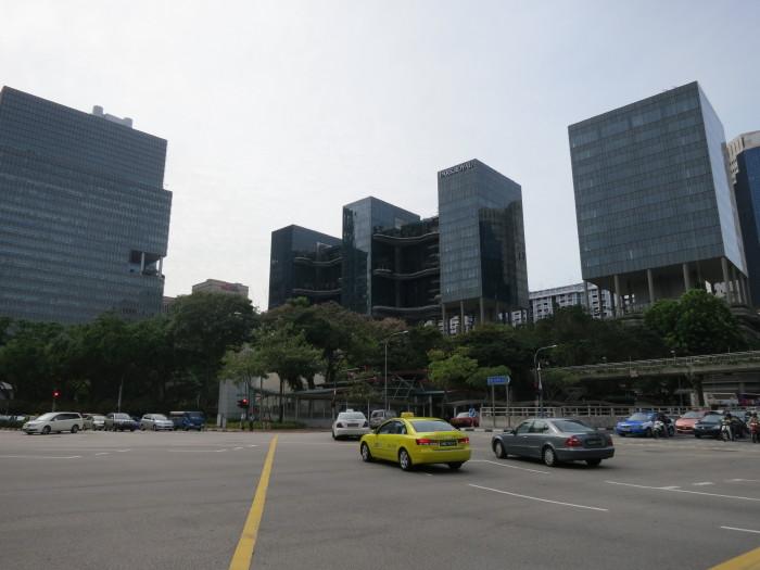 シンガポール町並み