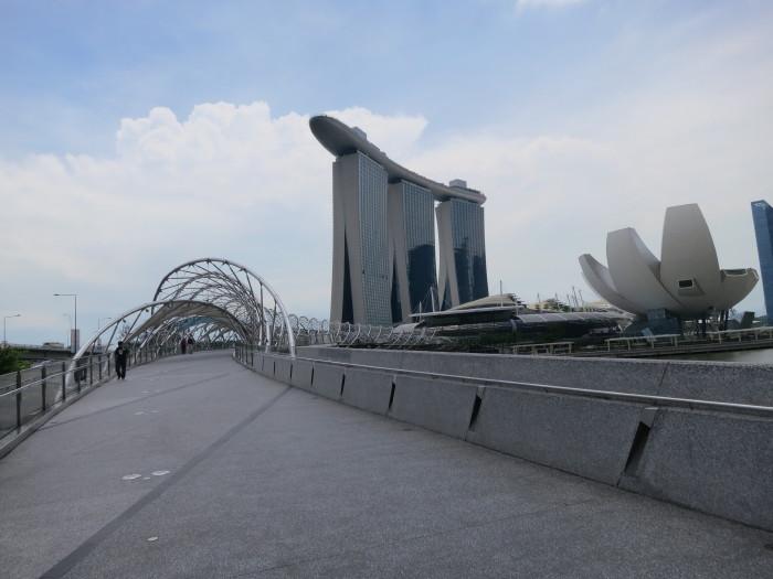 マーライオン マリーナ・ベイ・サンズ シンガポール観光