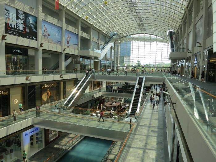 マリーナ・ベイ・サンズ ショッピング シンガポール観光