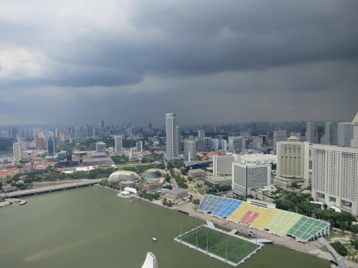 マリーナ・ベイ・サンズ シンガポール MBS プール