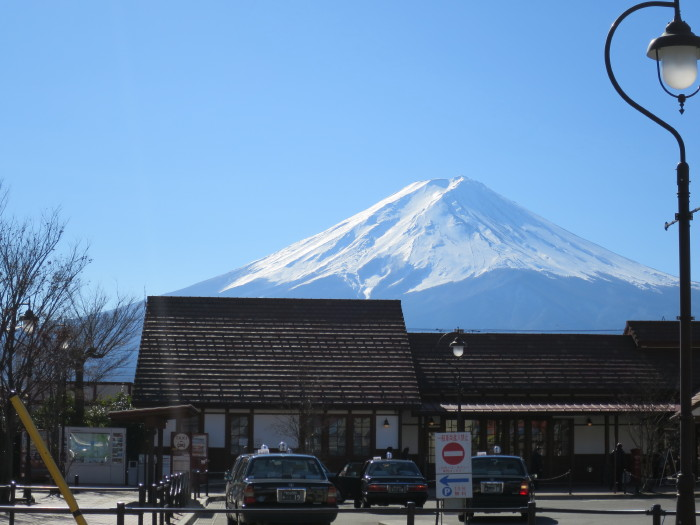 富士山 河口湖駅