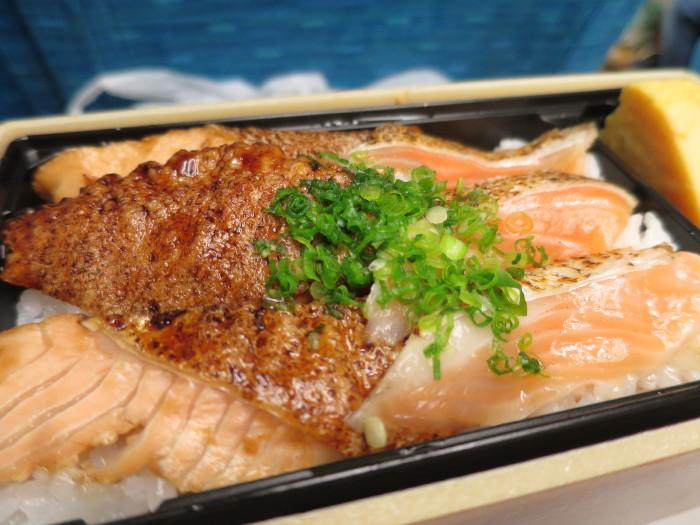 魚力 大トロサーモン蒲焼丼 東京駅限定 駅弁
