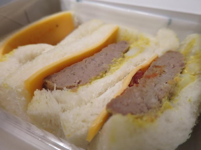 駅弁 新大阪 京都黒毛和牛ビーフハンバーグサンド