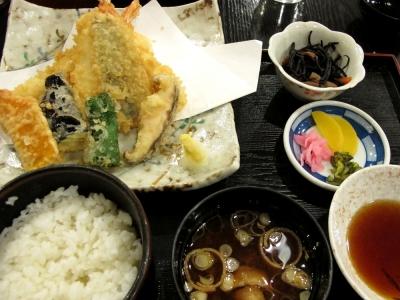 カーサフローラ 天ぷら定食