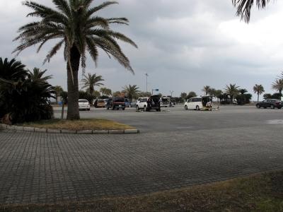 太東海浜広場 駐車場