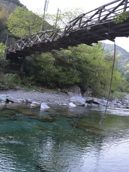 壊れた吊り橋