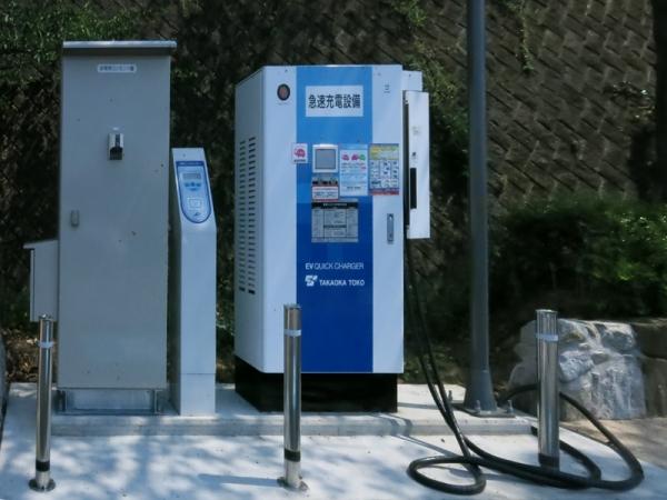 豊浜SA充電スタンド