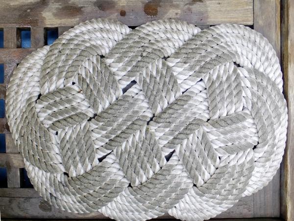 ロープのマット