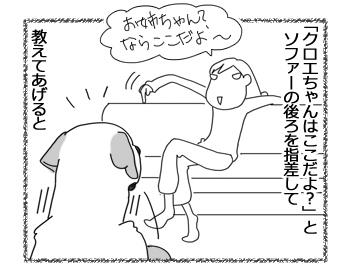 羊の国のラブラドール絵日記シニア!!「うれしそうな尻尾」3