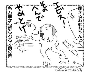 羊の国のラブラドール絵日記シニア!!「マジで怒られる3秒前」4