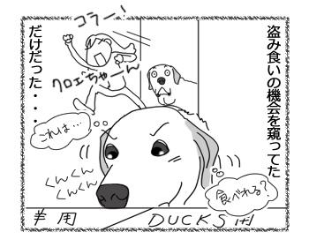 羊の国のラブラドール絵日記シニア!!「おもいこみ」4