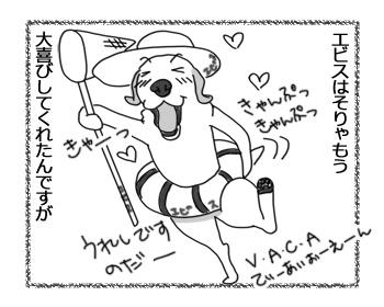 羊の国のラブラドール絵日記シニア!!無理やりキャンプ!?2