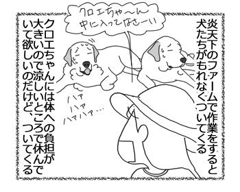 羊の国のラブラドール絵日記シニア!!「クロエちゃんのためなら」2