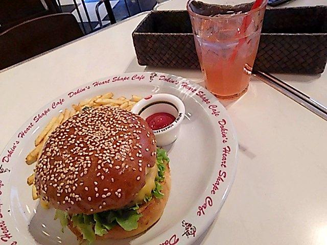 Dokin's Heart Shape Cafe(ドキンズハートシェイプカフェ) バーガー