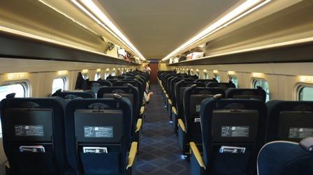 北陸新幹線「はくたか」グリーン車