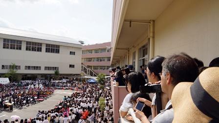 春日部共栄文化祭フィナーレ001