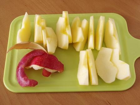 りんごのコンポート01