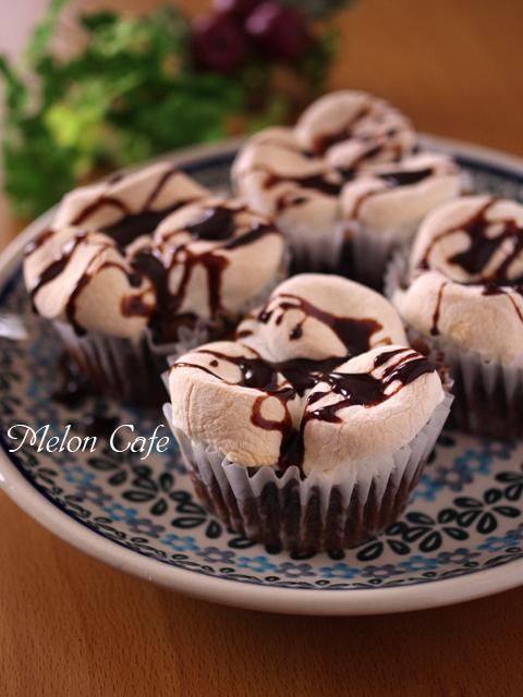スモアのチョコレートケーキ07
